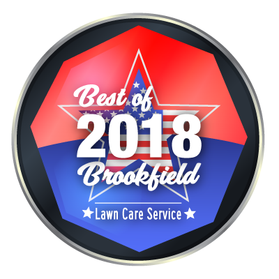 Best of 2018 Brookfield Lawn Service Award